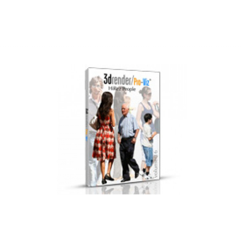 3D Architect Home Design Software 3D model library: Pro-Viz People