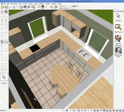 3d architect home design software home design software for for Easy architectural software